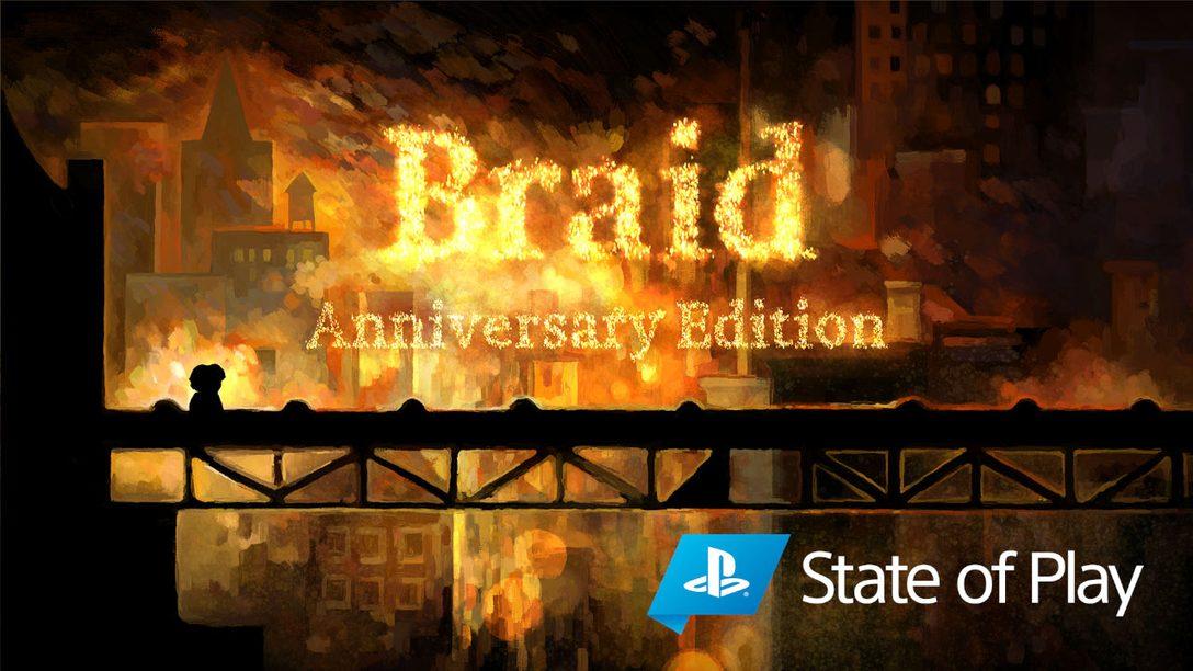 PS4 및 PS5용 Braid Anniversary Edition을 공개합니다!