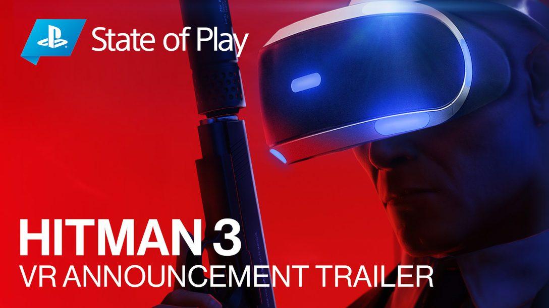 PS VR 지원이 추가된 Hitman 3가 2021년 1월 출시됩니다