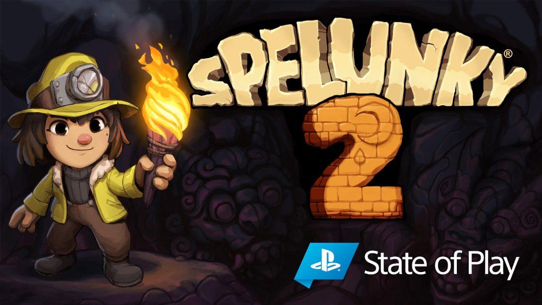 Spelunky 2가 9월 15일 PS4에 출시됩니다