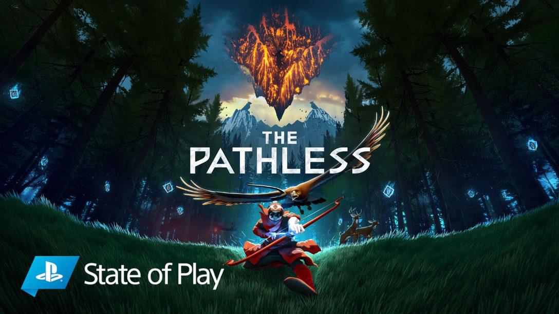 틀에서 벗어난 오픈 월드, The Pathless의 게임플레이 세부 사항 공개