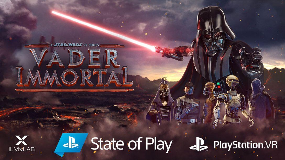 Vader Immortal: 스타워즈 VR 시리즈가 PS VR로 출시됩니다