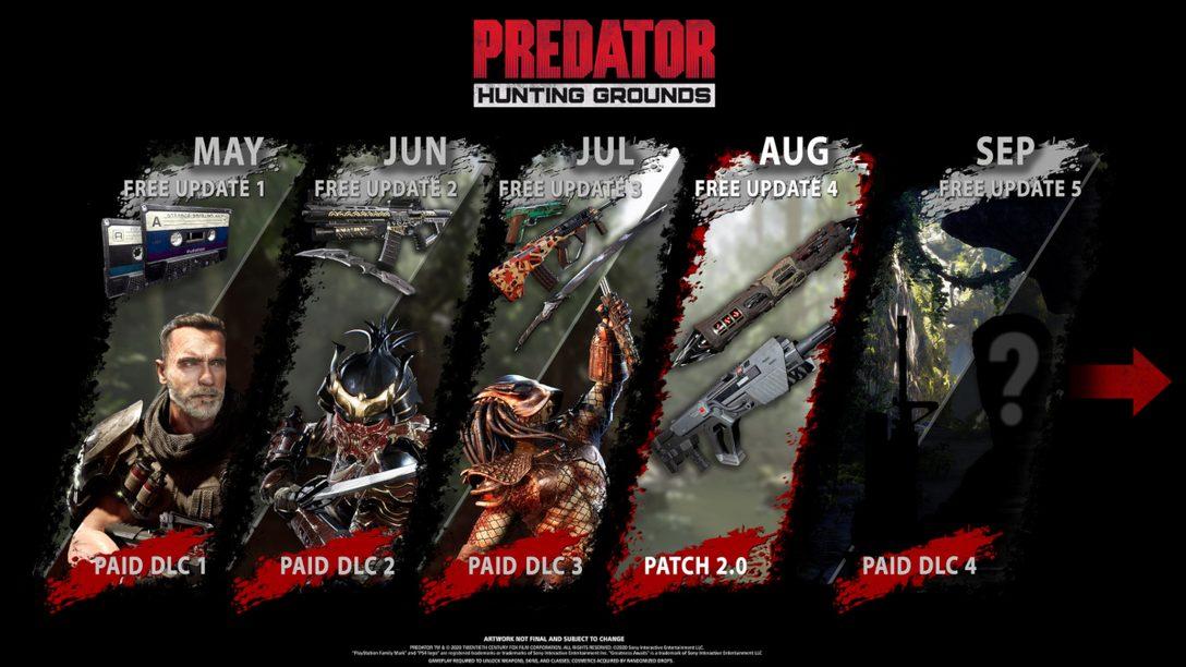 Predator: Hunting Grounds의 8월 업데이트