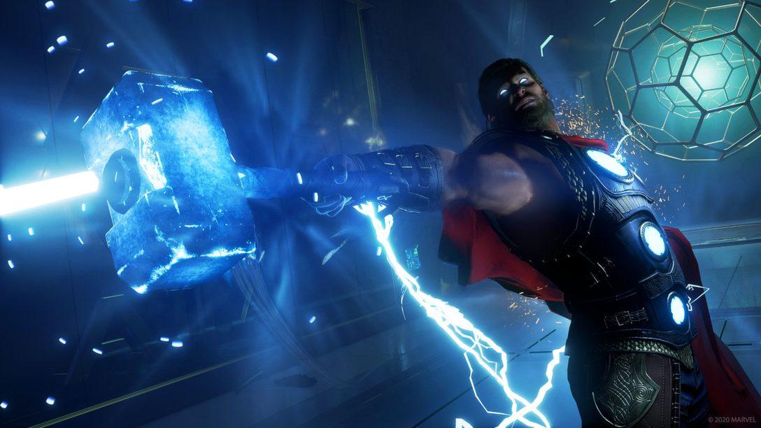 마블 어벤져스의 첫 주가 오늘 PS4에서 시작됩니다