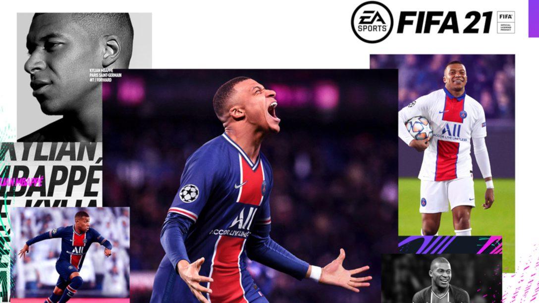 이번 가을에 발매되는 FIFA 21의 PS4 번들 상품에 대비해서 신발 끈을 묶으세요