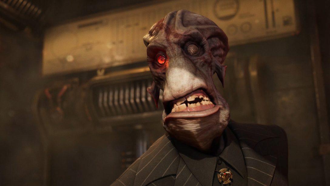 새로운 PS5™ 게임 플레이로 더 크고 더 대범해진 Oddworld: Soulstorm의 액션을 소개합니다