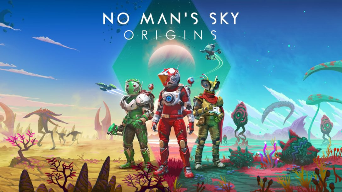 "No Man's Sky의 최신 업데이트 ""Origins""를 발표합니다"