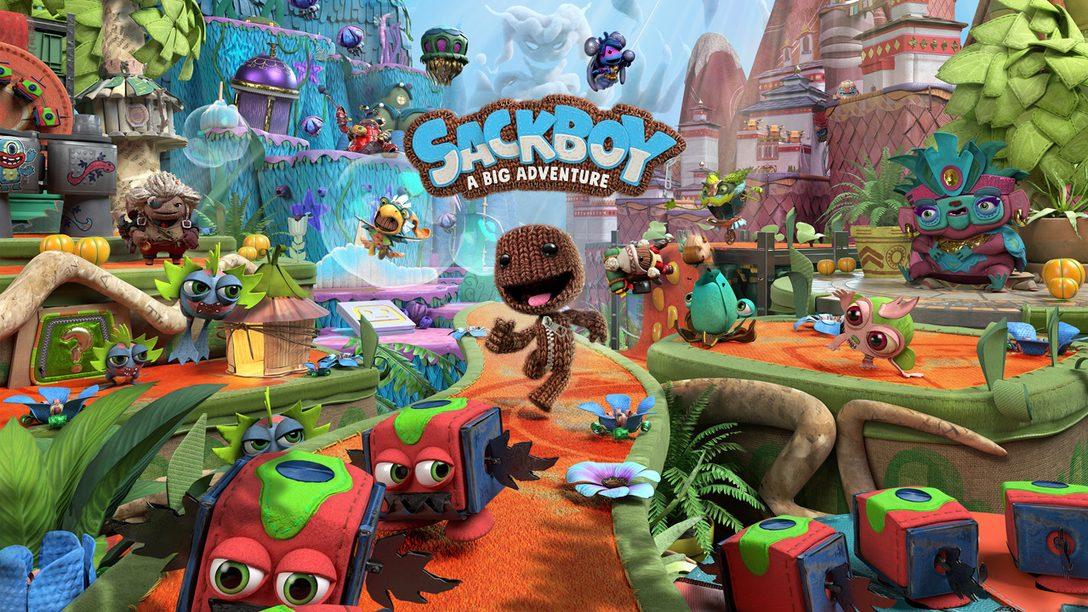 PS5™로 찾아오는 Sackboy: A Big Adventure에서 웅장한 3D 플랫폼 여행을 떠나보세요