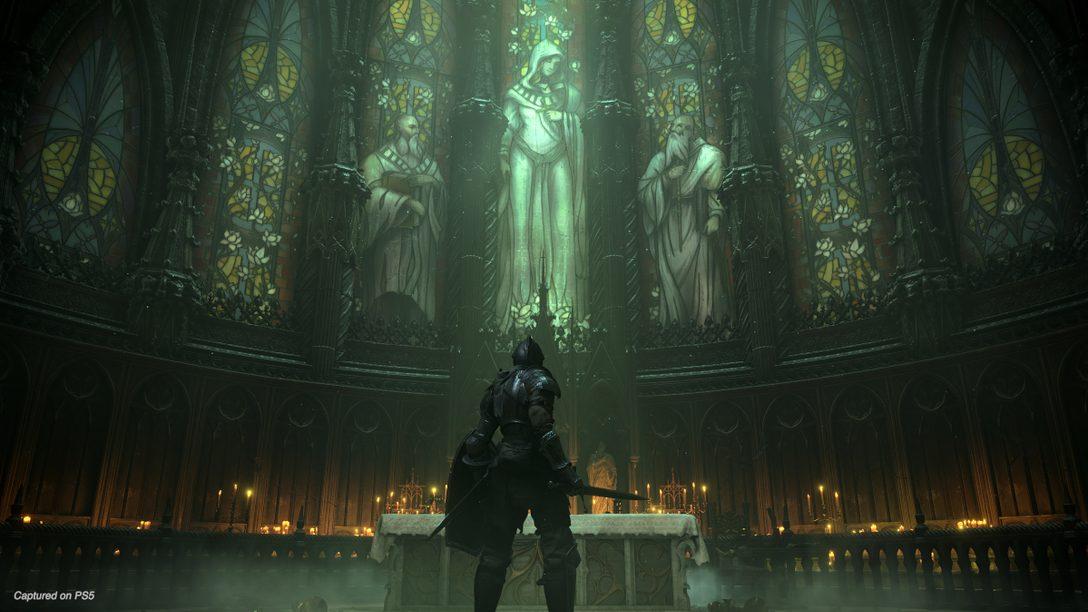 새로운 Demon's Souls 게임 플레이를 통해 보스와 무대 등을 공개합니다