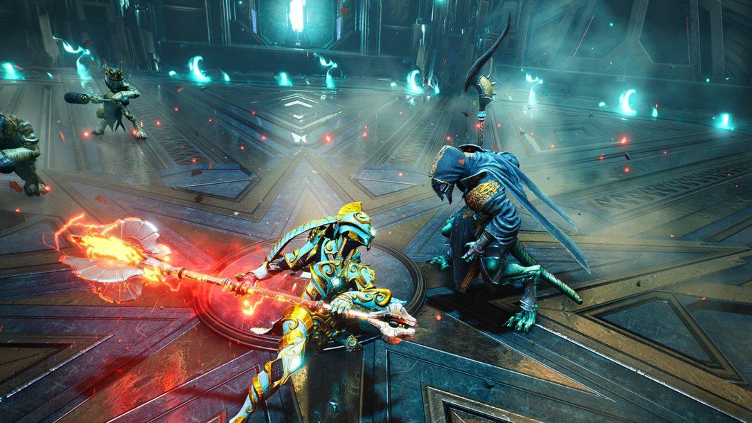 Godfall에서의 멋진 전투를 위한, 각종 전투 시스템을 소개합니다