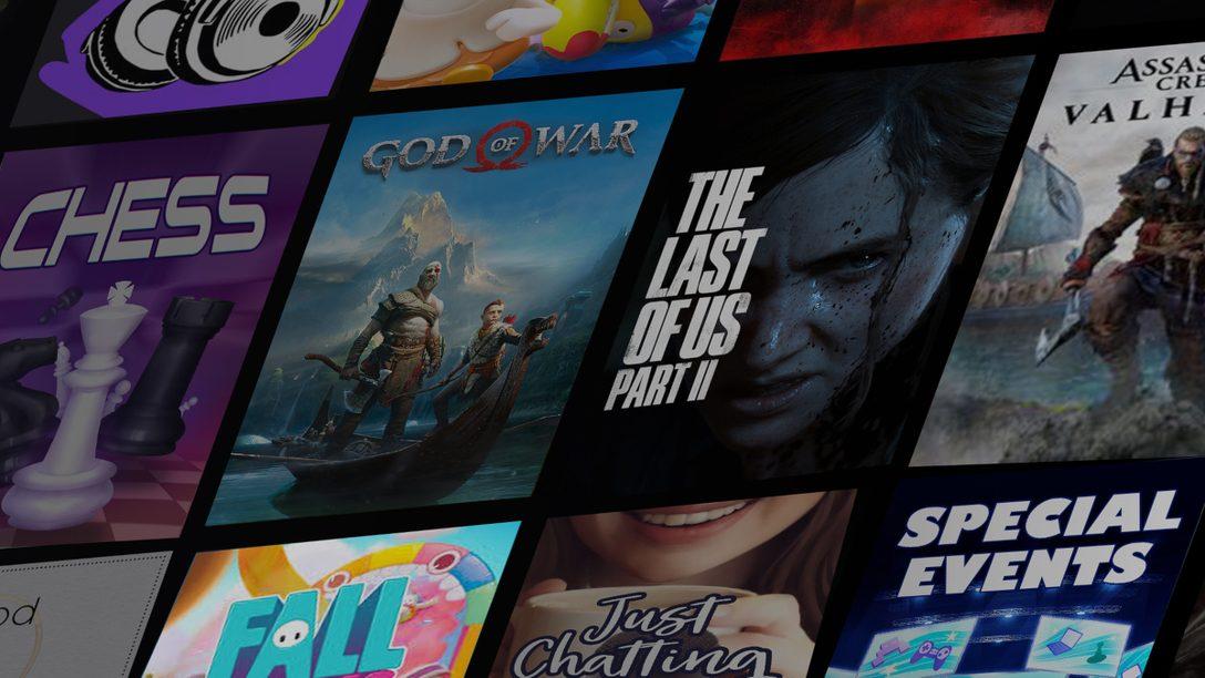 PS5™에서 Twitch로 게임을 방송하기 위한 가이드
