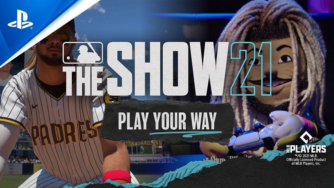 MLB The Show 21이 코치와 페르난도 타티스 주니어가 등장하는 홍보 영상을 선보입니다