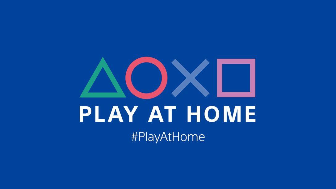 Play At Home이 돌아옵니다. 3월 1일부터 4개월 동안 PlayStation 게임과 엔터테인먼트에 대한 혜택을 제공합니다