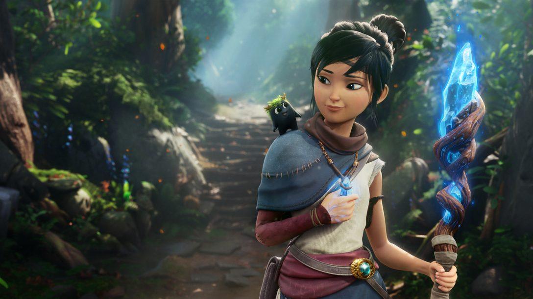 감동적인 Kena: Bridge of Spirits 트레일러를 통해 새로운 게임플레이와 스토리의 세부 사항을 공개합니다