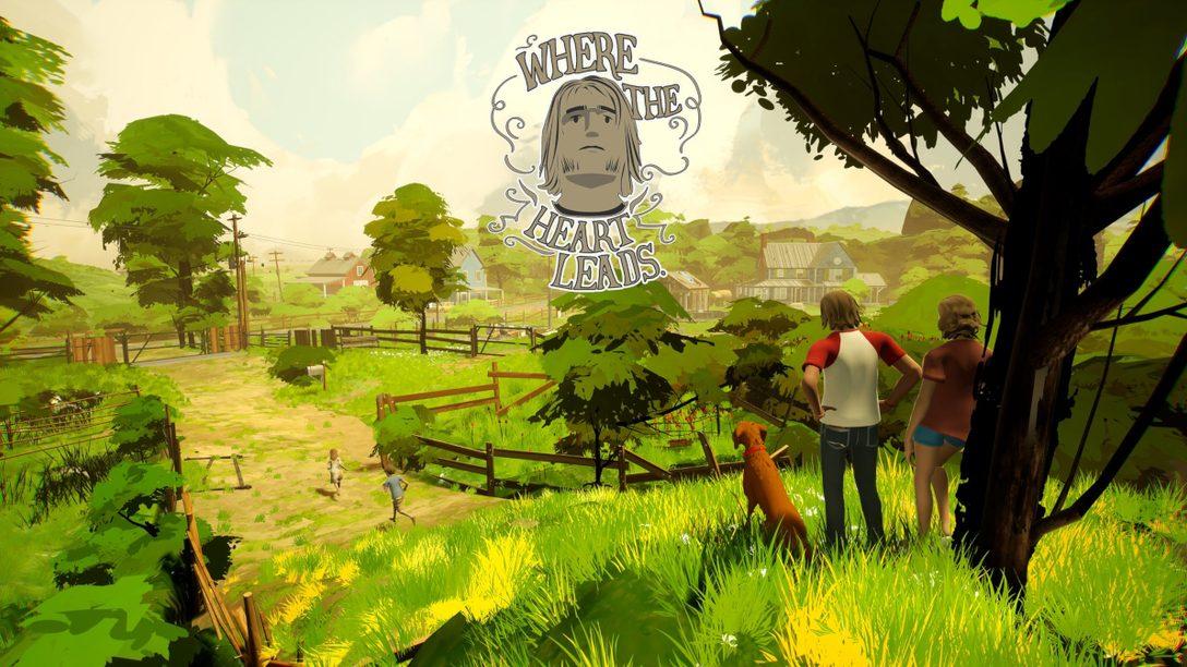 초현실적 내러티브 어드벤처 게임인 Where the Heart Leads가 7월 13일에 PS4, PS5로 출시됩니다