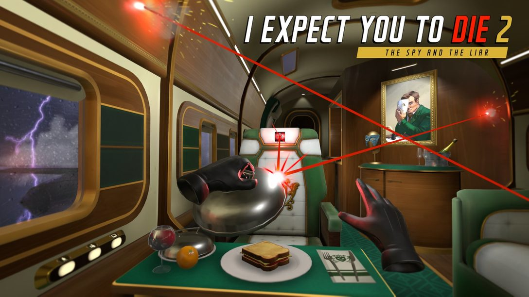 I Expect You To Die 2가 PS VR로 돌아옵니다