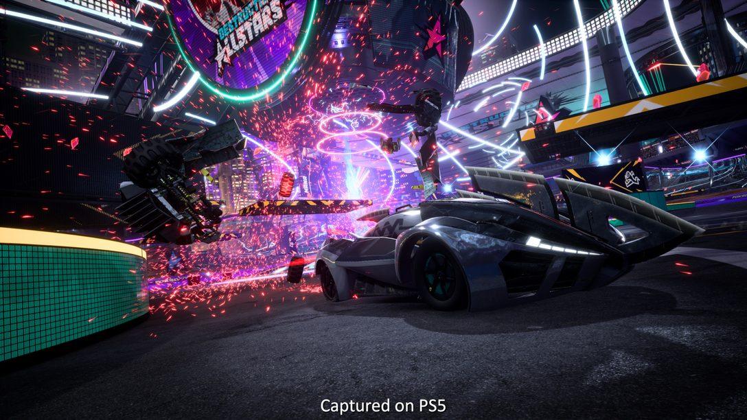 Destruction AllStars 인터뷰: 차량 대난투 게임을 만들어낸 PS5의 기술