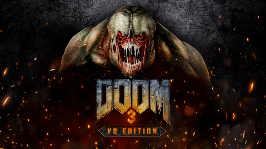 PlayStation VR로 찾아오는 DOOM 3: VR Edition의 악몽과 마주하세요