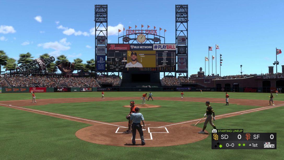 MLB The Show 21 게임 플레이 세부 정보와 함께 게임을 준비하세요