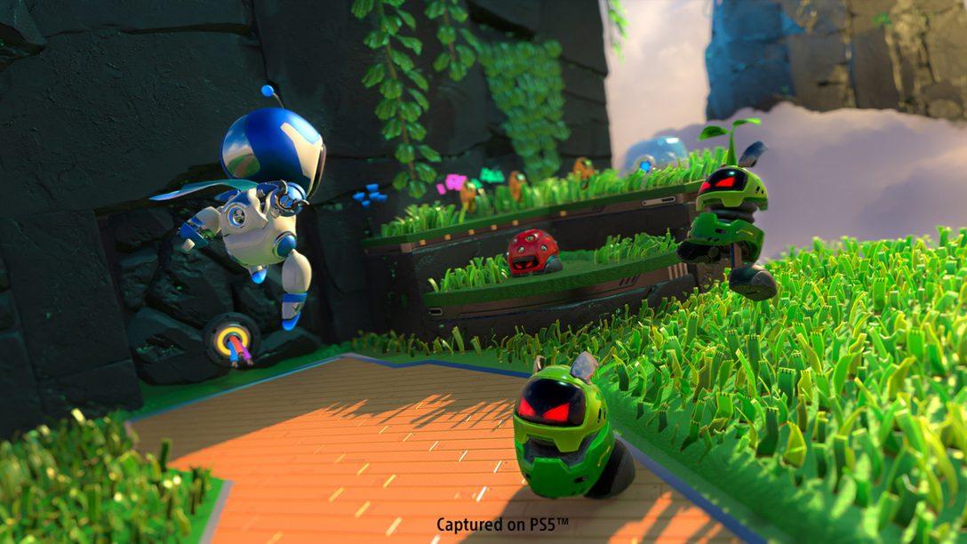 디지털 감성을 적용한 Astro's Playroom의 팝 음악 – I'm Your GPU