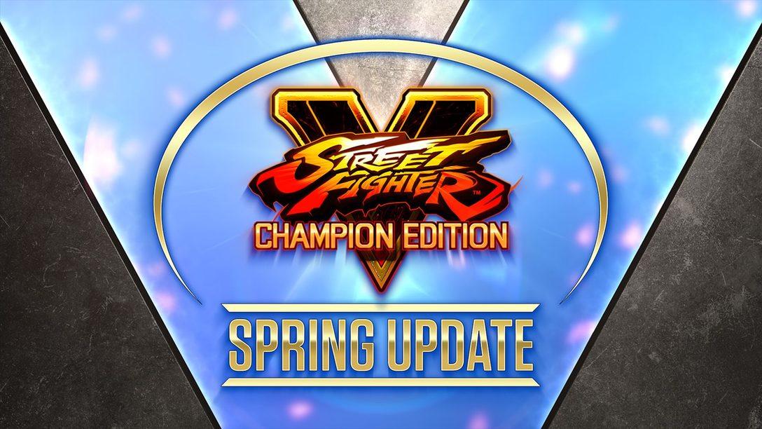 Street Fighter V의 봄 업데이트에 등장하는, 방랑 신선 Oro와 소울 파워의 소유자 Rose에 관한 소식을 전합니다