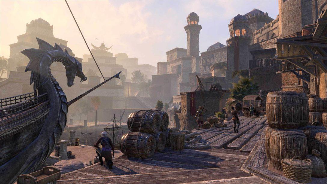 7월 8일, The Elder Scrolls Online: Console Enhanced가 PS5™에 찾아옵니다