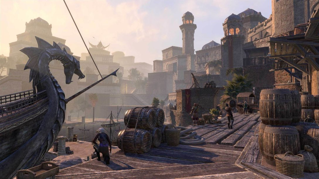 7월 8일, The Elder Scrolls Online: Console Enhanced가 PS5™에 찾아옵니다