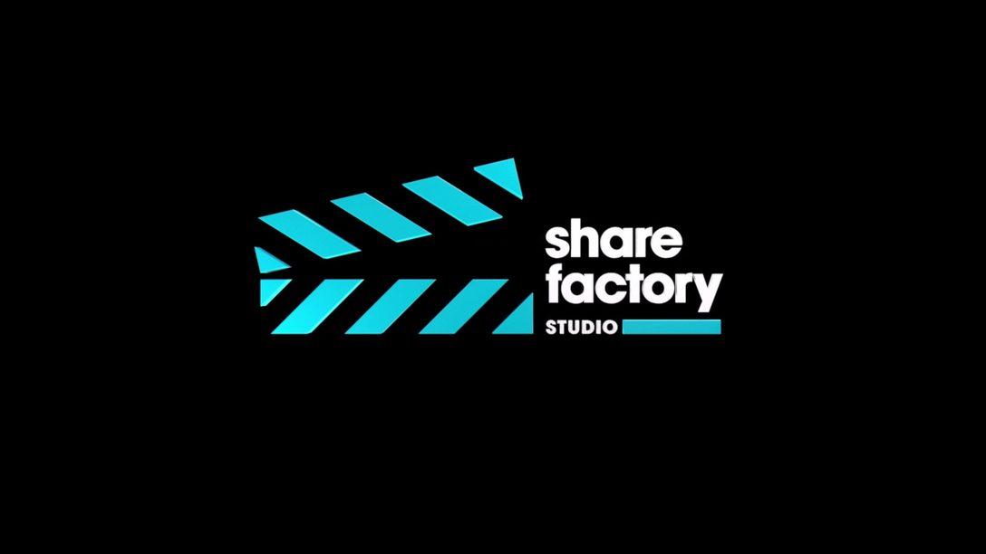 PS5용 Share Factory Studio의 최신 업데이트를 오늘부터 이용할 수 있습니다