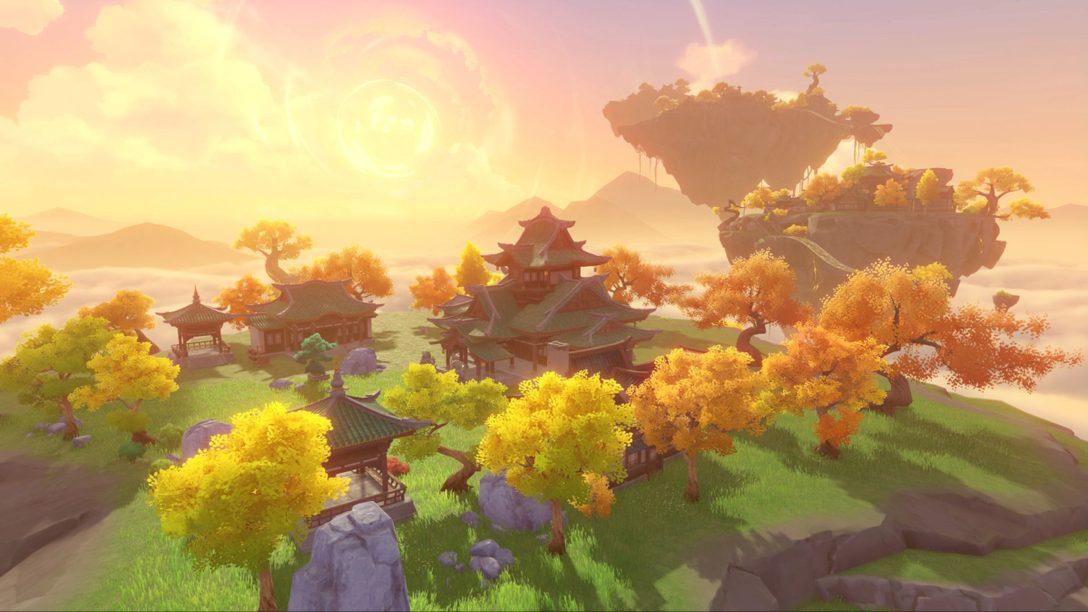 원신 1.5 버전 '옥빛 아래 속세의 노래' PS4 및 PS5에서 4월 28일 오픈