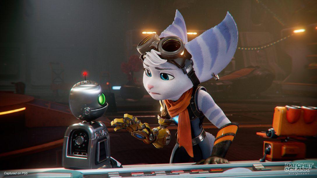 Ratchet & Clank: Rift Apart의 신비로운 새 주인공인 리벳을 만나보세요