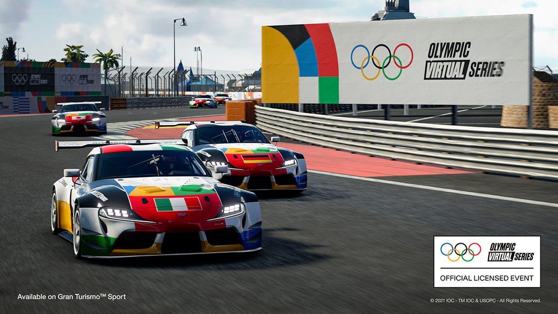 첫 올림픽 버추얼 시리즈 모터스포츠 이벤트가 6월 23일에 방송됩니다