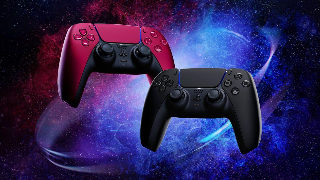 새로운 색상의 DualSense 무선 컨트롤러 2종이 다음 달에 출시됩니다