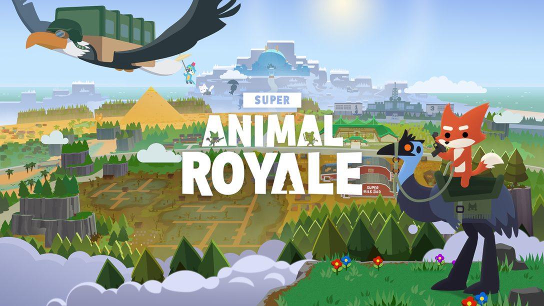 Super Animal Royale이 올해 말에 PS4와 PS5로 광적인 액션을 가져옵니다