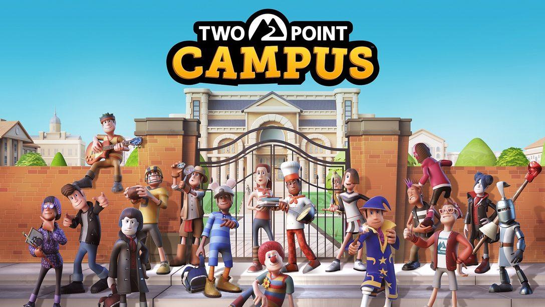 PS4와 PS5의 Two Point Campus에서 여러분만의 대학을 만들어보세요