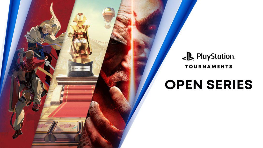 PS4 토너먼트: 3개의 새로운 토너먼트가 오픈 시리즈에 추가됩니다