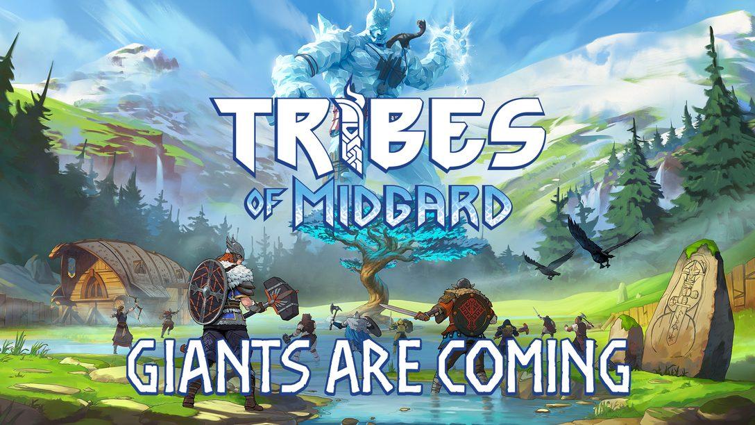 7월 27일에 출시되는 협동 액션 RPG인 Norsfell의 Tribes of Midgard 속 세상으로 들어오세요
