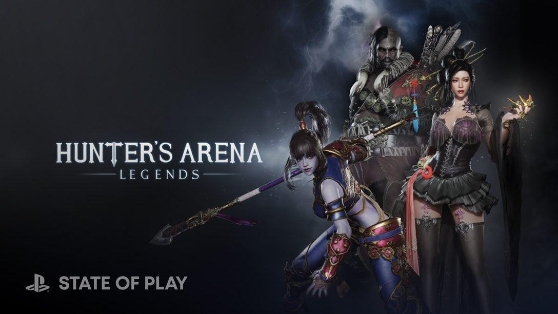 30인 배틀 로얄 Hunter's Arena가 8월 3일에 PS4, PS5로 출시됩니다