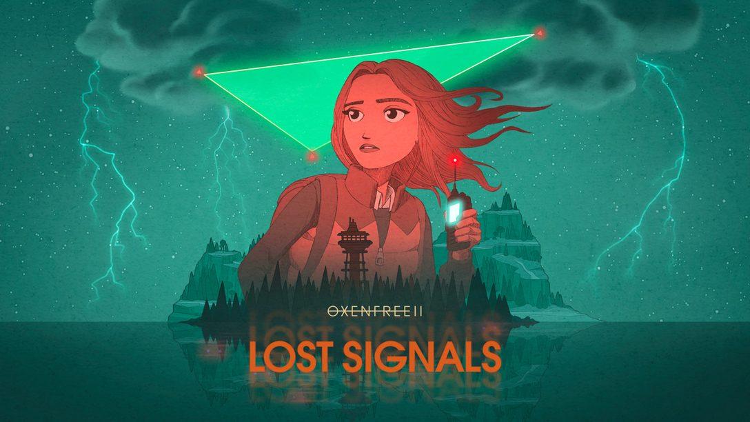 PlayStation으로 출시 예정인 OXENFREE II: Lost Signals에서 라일리가 되어 모든 이야기를 밝혀내 보세요