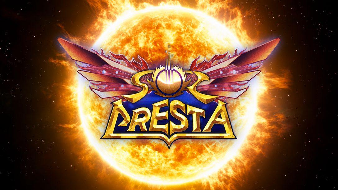 PlatinumGames의 우주 슈팅 후속작 Sol Cresta 36년 만에 제작됩니다