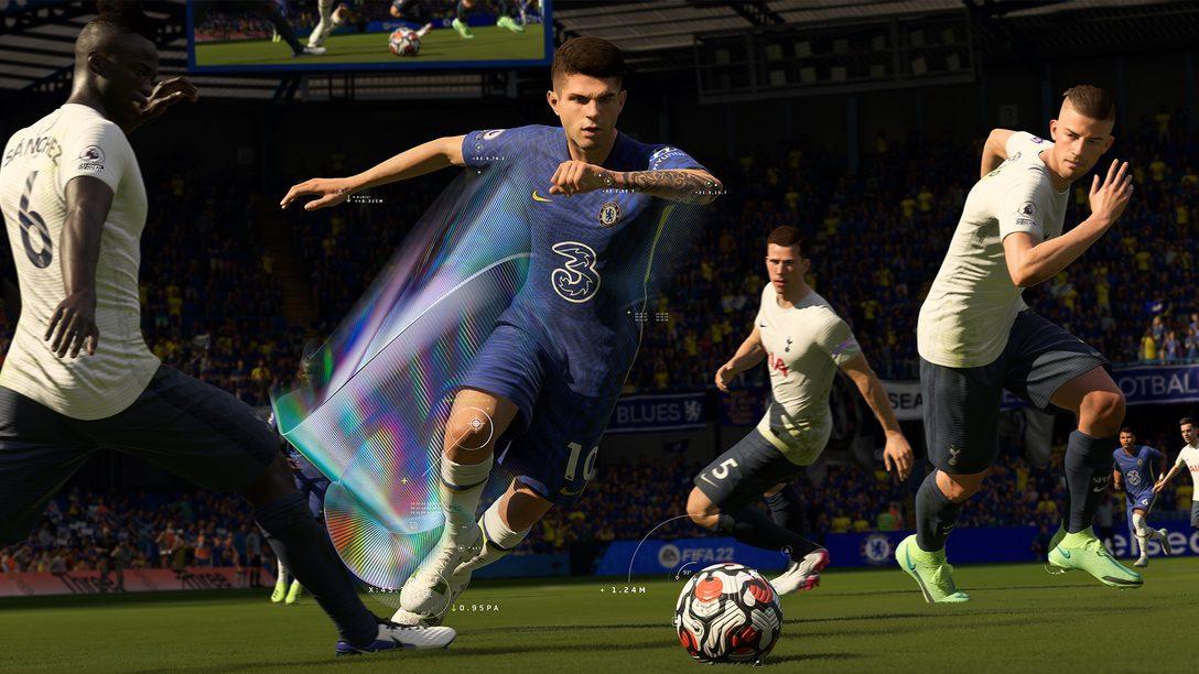 FIFA 22: PS5의 DualSense 컨트롤러와 3D 오디오가 플레이어를 The World's Game에 전례없이 몰입하게 만드는 방법