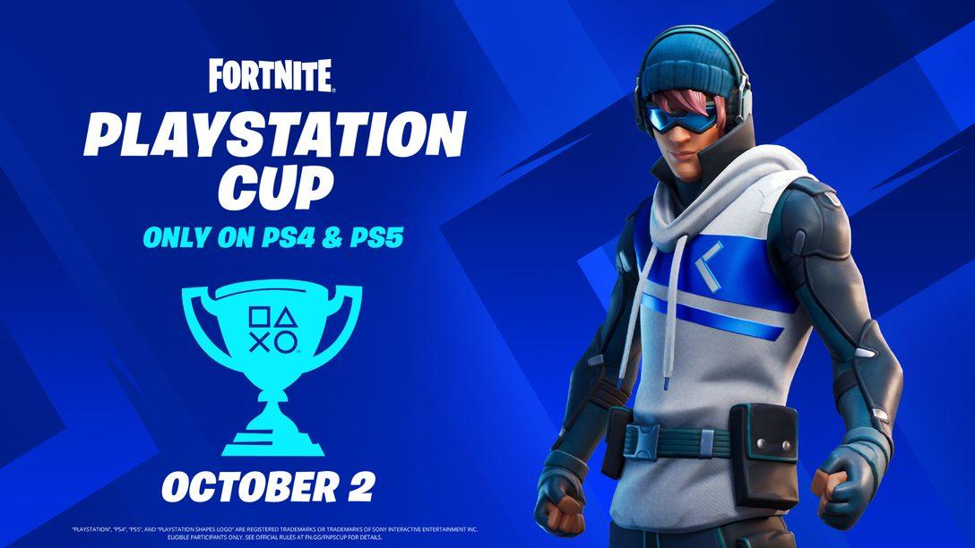 글로벌 상금 $110,000이 걸린 Fortnite PlayStation Cup에서 경쟁하세요