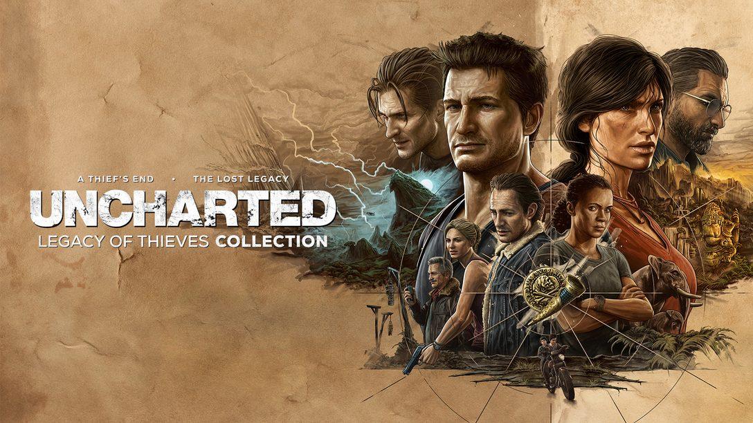 Uncharted: 레거시 오브 시브즈 컬렉션 PS5 및 PC로 발매 예정