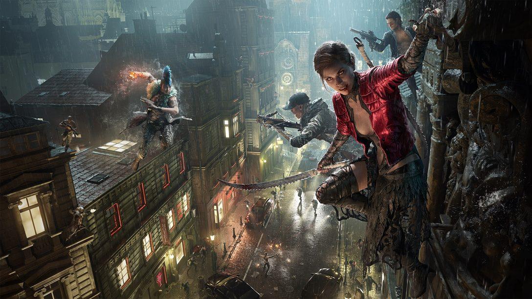 2021년에 Bloodhunt가 PlayStation 5로 발매됩니다