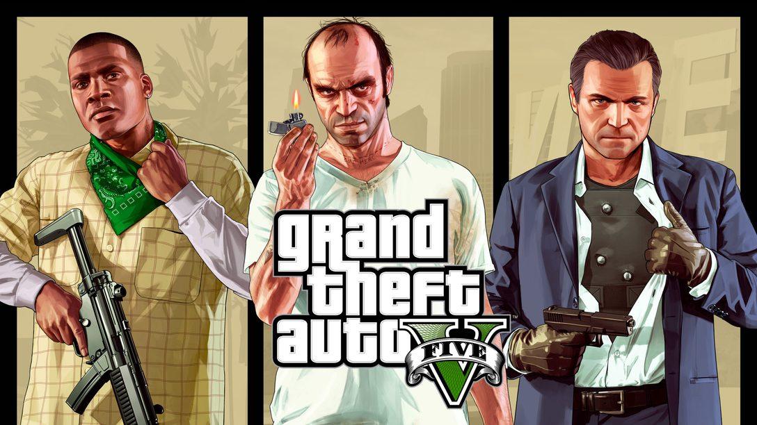 2022년 3월, GTAV와 GTA 온라인 PS5로 출시