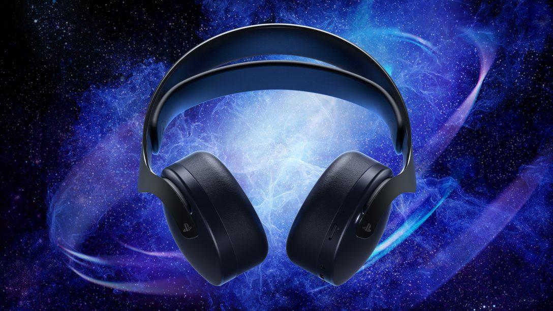 Pulse 3D 무선 헤드셋 미드나이트 블랙, 10월 29일 출시